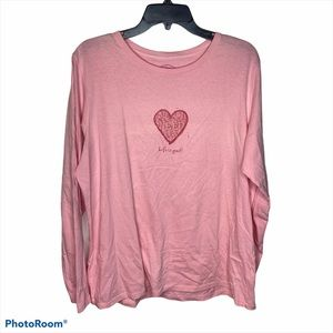Life is Good All you need is love Long Sleeve XL